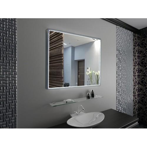 Зеркало подвесное в ванную с подсветкой Тейлор